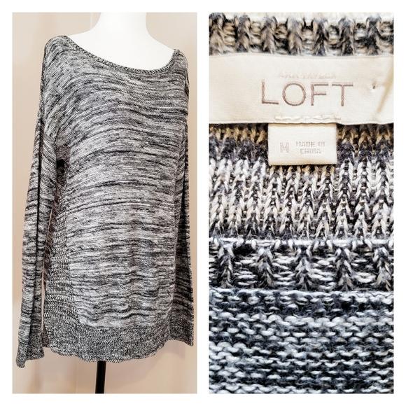 Loft | Marled Light Knit Sweater